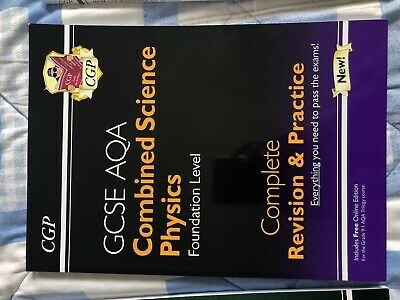 GCSE Combined Science: Physics AQA Foundation Complete Revision ... by CGP Books