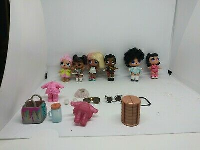 Lot 8X LOL Surprise dolls Replacement Outfit dolls BOTTLE no repeat doll house
