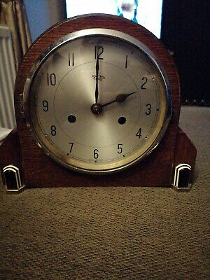 Superb and fully working Vintage Antique Smiths Chime Mantel Clock 99p no reserv