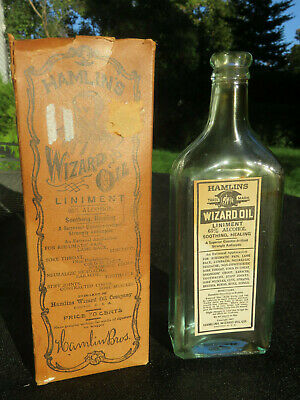 Hamilins Wizard Oil, 65% Alcohol, Created By Magician To Cure Humans & Elephants