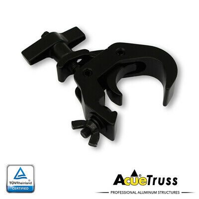Acue Lighting Truss Heavy Duty Hook Style Black Compact Trigger Clamp
