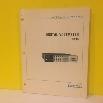 HP   03456-90006 3456A Digital Voltmeter Operating Manual