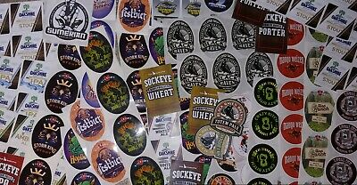 15 BEER STICKER PACK LOT decal craft beer brewing brewery tap handle