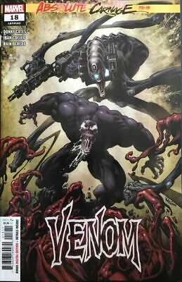 Venom #18 Absolute Carnage Tie In Sold Out Sept 2019 Comic Book New 1 Cates