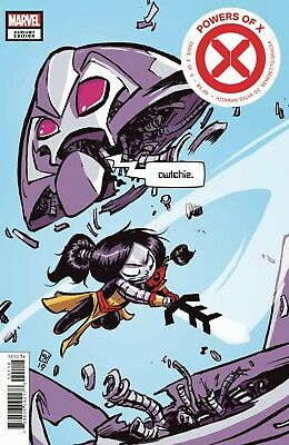 Powers of X #1 (of 6) Marvel Comics 2019 Variant Cover Skottie Young