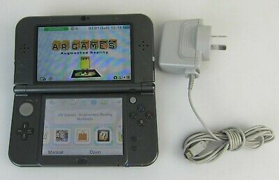 New Nintendo 3Ds Xl  Console Metalic Black - Used