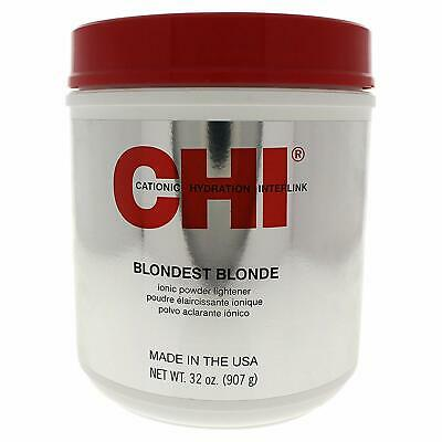 CHI Cosmo Farouk Blondest Blonde Ionic Powder Lightener, 32 Ounce