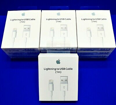 Genuine OEM Apple Lightning USB Charger Cable Cord IPhone 6 7 8 X Plus