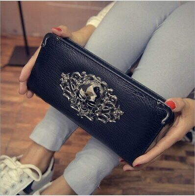 Women Purse Leather Wallet Ladies Clutch Bag Long Handbag Phone Coin Card Holder