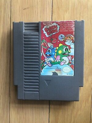 Bubble BobbleNES Nintendo Cart Only See Photos For Condition