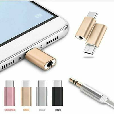 1PC Type-C To 3.5mm Jack Earphone Mini USB C Headphone Audio Adapter Universal