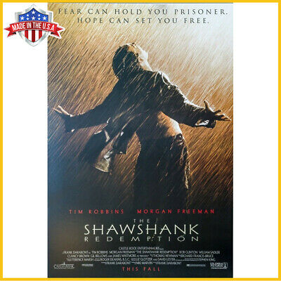 SHAWSHANK REDEMPTION MOVIE POSTER MADE IN USA Art Print No Frame