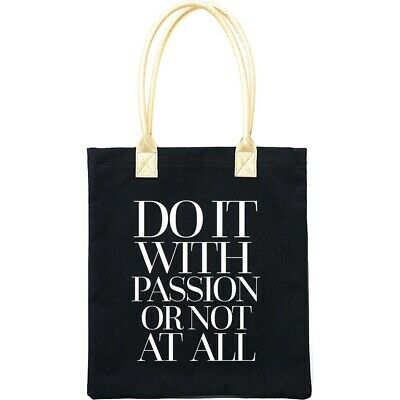 """Teresa Collins Totebag 16""""x13""""-do It With Passion"""
