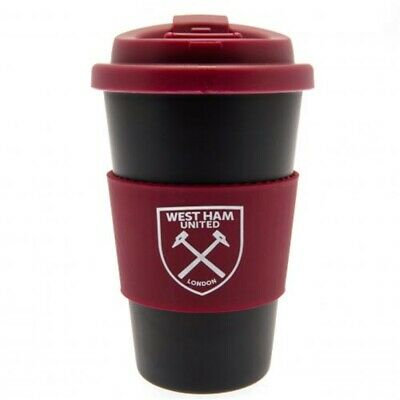 West Ham United F.c. Silicone Grip Travel Mug