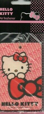 Hello Kitty - Car Air Freshener                                *New And Sealed*2