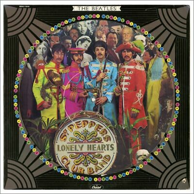 The Beatles Sgt Peppers Lonely Hearts Club Band Picture Disc LP SEAX-11840 (USA)