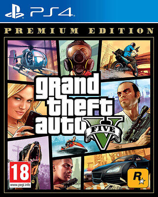 Grand Theft Auto V - Premium Edition (PS4) BRAND NEW AND SEALED - QUICK DISPATCH
