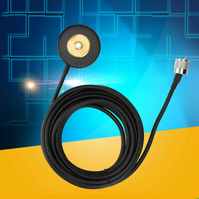 Antenna Cable BNC Male to M Female Connector Extension Cable for Car Radio