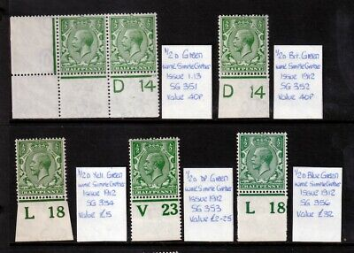 1/2d Royal Cypher Controls UNMOUNTED MINT(1)