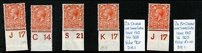 2d Royal Cypher Controls UNMOUNTED MINT(1)