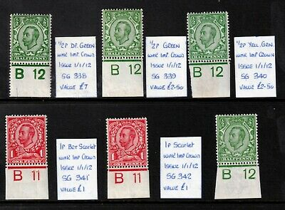 Downey Head Controls UNMOUNTED MINT(1)