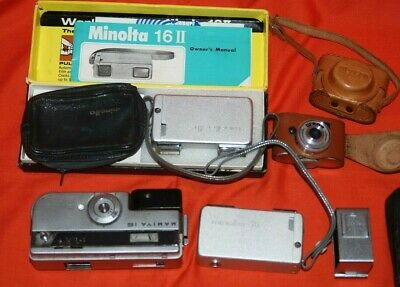 A COLLECTION OF VINTAGE 16mm FILM SPY / MICRO CAMERAS  #17