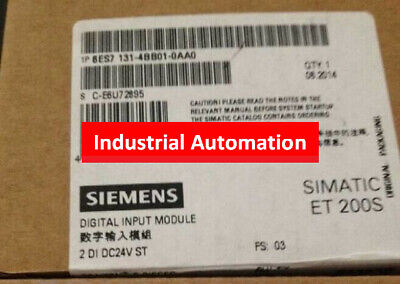 1PC NEW IN BOX Siemens 6ES7131-4BB01-0AA0 6ES7 131-4BB01-0AA0