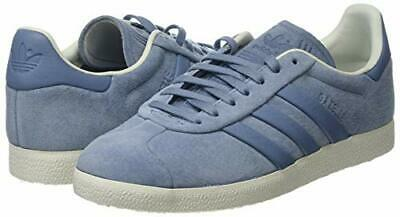 adidas Originals Gazelle Stitch & Turn B37813 Blue Casual Trainers UK 6, 8 & 9.5