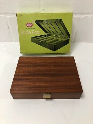 Boots Mahogany Slide Box