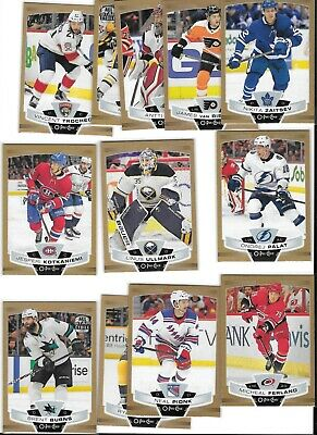 2019-20  Opc  O-Pee-Chee Gold Glossy Marner,Bergeron,Cl,Ovechkin,Eichel,Murray
