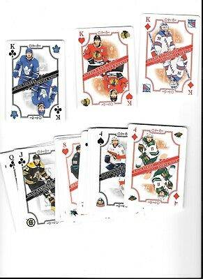 2019-20 O-Pee-Chee Opc Playing Card Set 48  No Aces Kane,Price,Marner,Pettersson