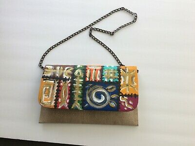 Beautiful African Art dinner purse