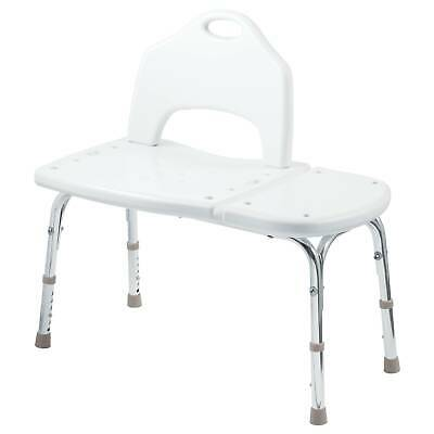 Moen DN7065  Adjustable Transfer Bench with Seat Back from the Home Care