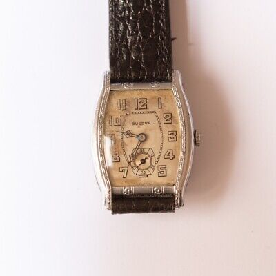Bulova Very Rare 1920s Style Vintage Watch Art-Deco Manual 10AN