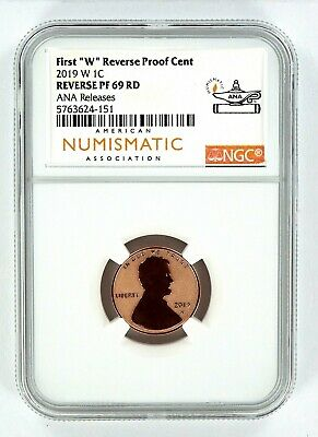 2019 W Reverse Proof Lincoln Penny NGC PF69 RD - Chicago ANA Releases
