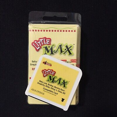 Amazing Box Little Max Re-writable Embroidery Card For Brother Viking