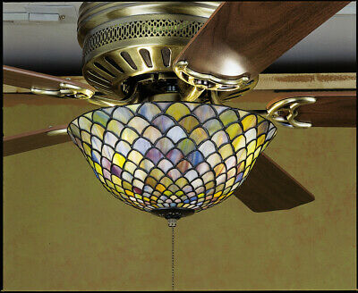 Meyda Tiffany 27451  Stained Glass / Tiffany Fan Light Kit from the Fixtures