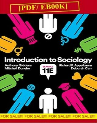 Introduction to Sociology 11Edition By Carr .Giddens.Duneir.P. Appelbaum [EßOOK]