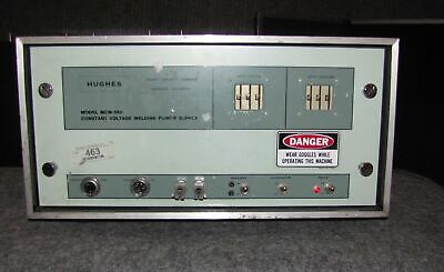 Hughes Model Mcw-550 Constant Voltage Welding Power Supply (#1876)
