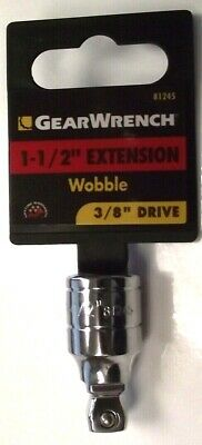 Gearwrench 81245 3/8 Drive 1-1/2 Wobble Extension