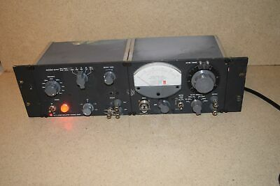 General Radio 1311-A Audio Oscillator / 1232-A Tuned Amplifier & Null Detector
