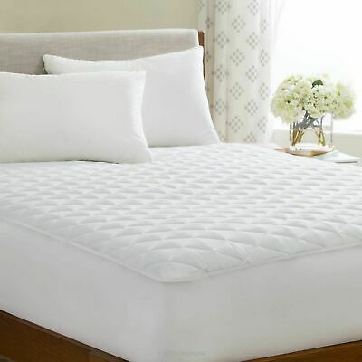Quilted Mattress Bed Protector Topper Fitted Cover EXTRA DEEP KING SIZE BED