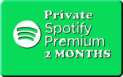 🔥 Spotify Premium Private Account ☑ 60 DAYS / 2 MONTHS ☑ Fast Delivery 🔥