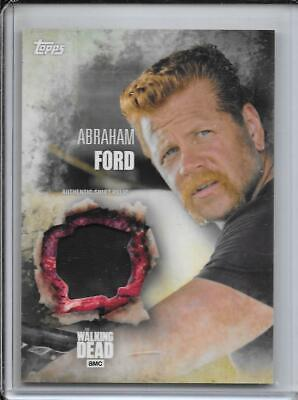 2016 Topps The Walking Dead Season 5 Relics Wardrobe Abraham Ford