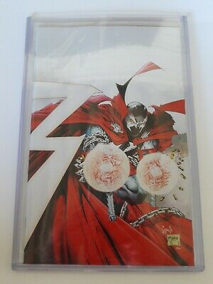 Spawn #300 1:25 Incentive Capullo And Mcfarlane Virgin Variant