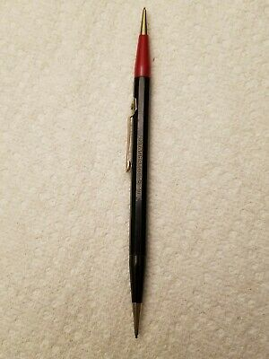 VTG 1950s Autopoint US Government Twinpoint Red Black Thin Lead Pencil Bakelite?