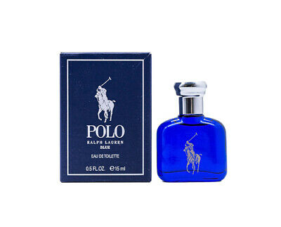 Polo Blue by Ralph Lauren 0.5 oz EDT Mini for Men Cologne New In Box