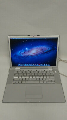 "Apple MacBook Pro A1211  15.4"" Laptop - MA609LL/A (2006 250GB 2.16GHz 3GB Ram))"