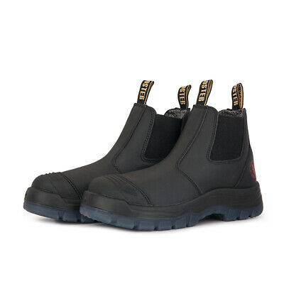 ROCKROOSTER Work Boots Safety Shoes Slip On Boots Steel Toecap Water Resistant