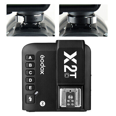 Godox X2T-C 2.4G TTL Bluetooth Connection Wireless Flash Trigger for Canon New